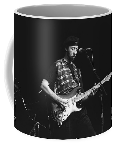 Singer Coffee Mug featuring the photograph Musician Richard Thompson by Concert Photos