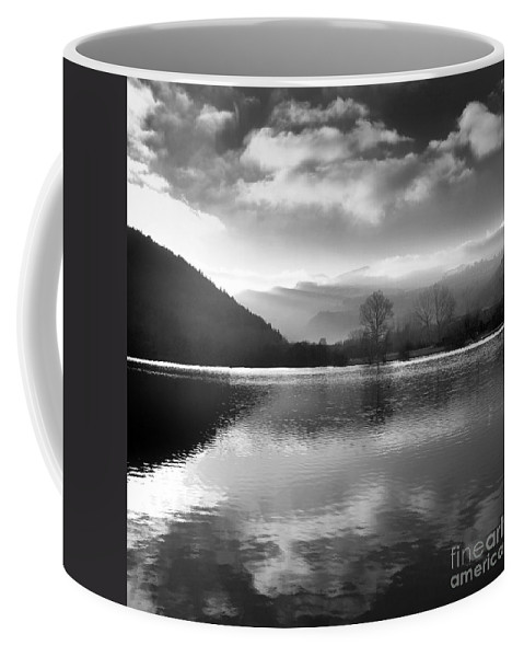 Auvergne Coffee Mug featuring the photograph Romantic Lake by Bernard Jaubert