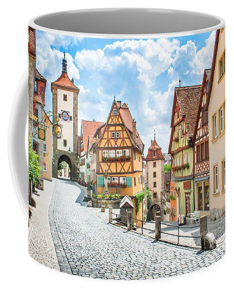 Rothenburg Coffee Mug featuring the photograph Rothenburg Ob Der Tauber by JR Photography