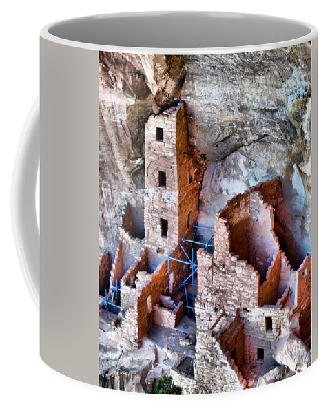 Ruins Coffee Mug featuring the photograph Ruins by Dan Sproul
