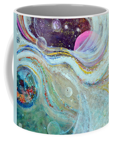 Astral Coffee Mug featuring the painting Samadhi Bliss by Ashleigh Dyan Bayer