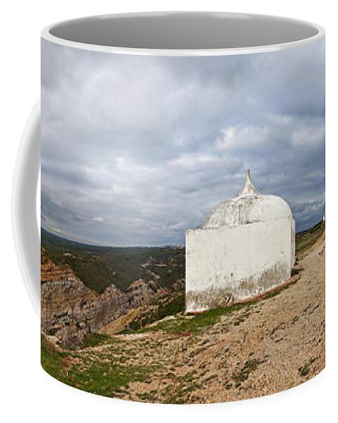 Sanctuary Coffee Mug featuring the photograph Santuary In Cape Edge by Jose Elias - Sofia Pereira