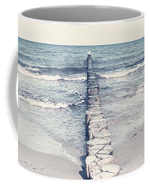 Sea Coffee Mug featuring the photograph Sea by Heike Hultsch