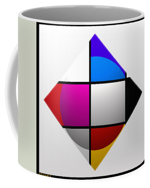 Ship Coffee Mug featuring the painting Ship by Charles Stuart