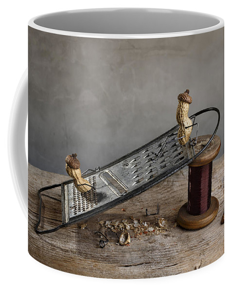 Simple Coffee Mug featuring the photograph Simple Things - Sliding Down by Nailia Schwarz