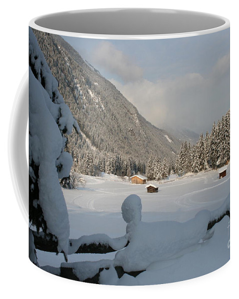 Snow Coffee Mug featuring the photograph Snowed Under by Christiane Schulze Art And Photography