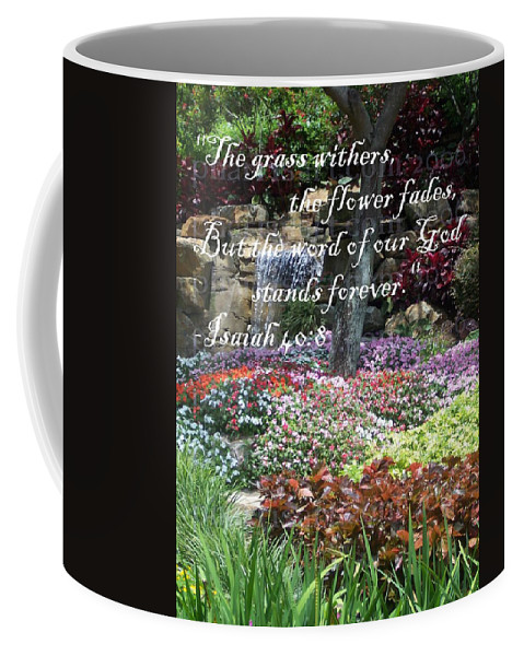 Inspirational Coffee Mug featuring the photograph Stands Forever by Pharris Art