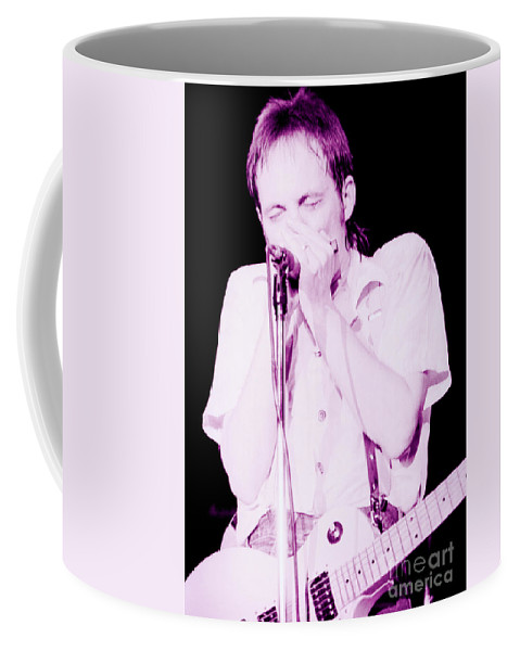 Steve Marriott Coffee Mug featuring the photograph Steve Marriott - Humble Pie At The Cow Palace S F 5-16-80 by Daniel Larsen