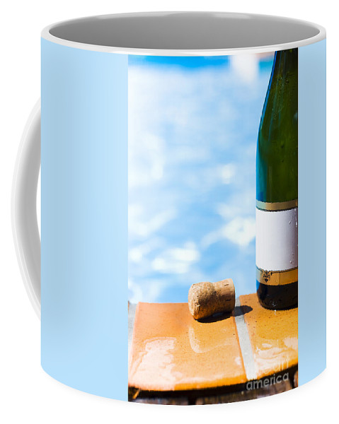 Aqua Coffee Mug featuring the photograph Summer Party by Jorgo Photography - Wall Art Gallery