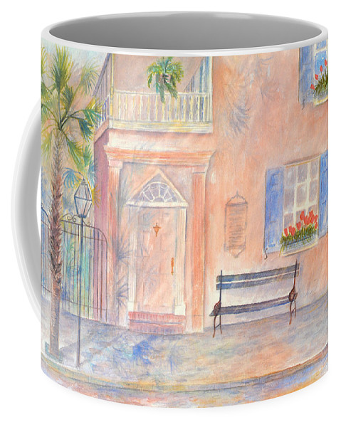 Charleston Coffee Mug featuring the painting Sunday Morning in Charleston by Ben Kiger