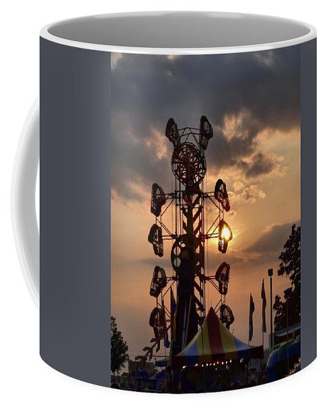 Fair Coffee Mug featuring the photograph Sunset by Dan Sproul