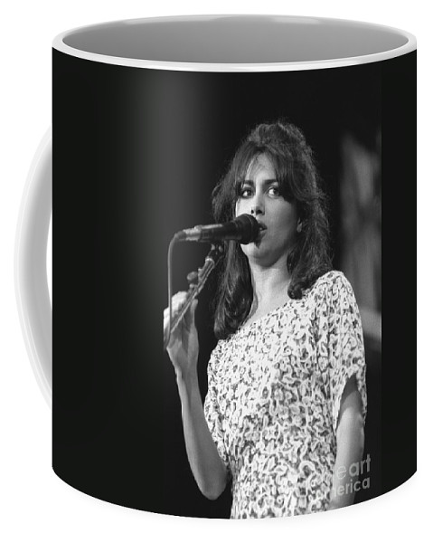 Vocalist Coffee Mug featuring the photograph Susanna Hoffs by Concert Photos