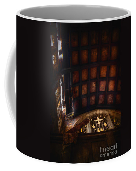 Church Coffee Mug featuring the photograph The Balcony by Margie Hurwich
