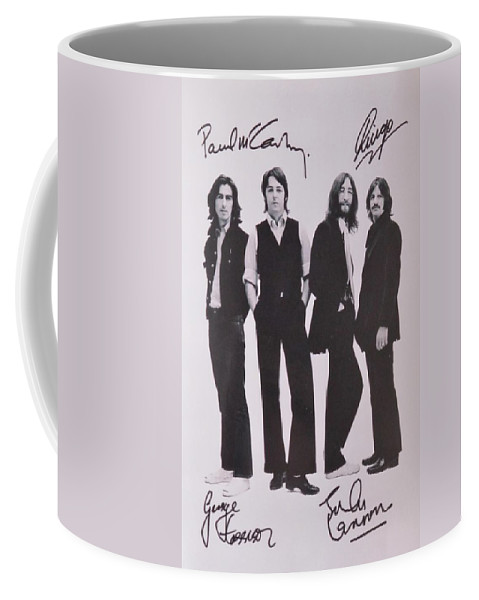 The Beatles Coffee Mug featuring the photograph The Beatles by Donna Wilson