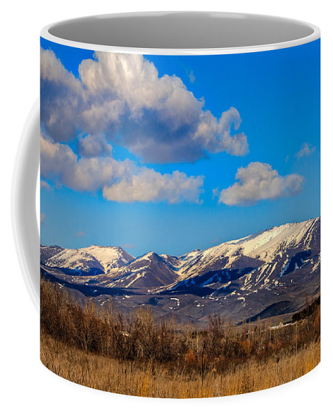Gem County Coffee Mug featuring the photograph The Butte by Robert Bales
