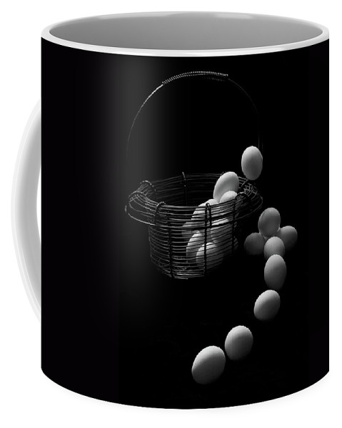 Escape Coffee Mug featuring the photograph The Great Eggscape by Jim Garrison