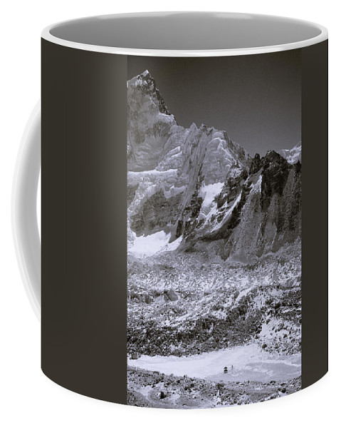 Dramatic Landscape Coffee Mug featuring the photograph The Himalaya by Shaun Higson
