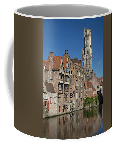 Tourism Coffee Mug featuring the photograph The Historic Center Of Bruges by Jaroslav Frank