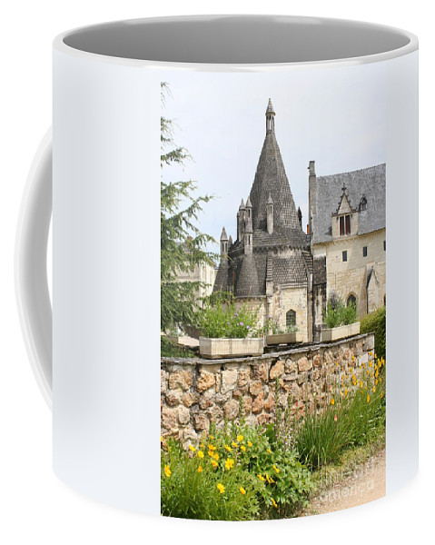 Kitchen Coffee Mug featuring the photograph The Kitchenbuilding Of Abbey Fontevraud by Christiane Schulze Art And Photography