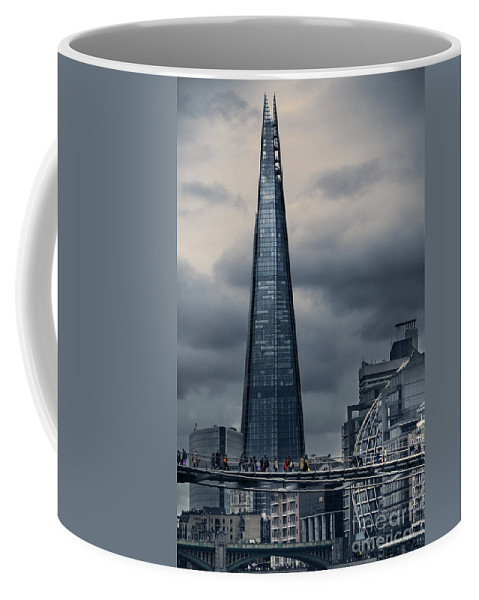 The Shard Was Conceived As A Building With Multiple Uses: A Vertical City Where People Could Live Coffee Mug featuring the photograph The Shard by Istvan Kadar
