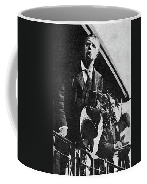 1900 Coffee Mug featuring the photograph Theodore Roosevelt (1858-1919) by Granger