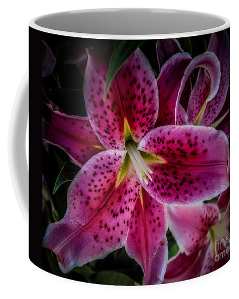 Lily Coffee Mug featuring the photograph Tiger Lily by Ronald Grogan