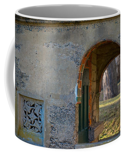 Tile Coffee Mug featuring the photograph Tile Work by Scott Hafer