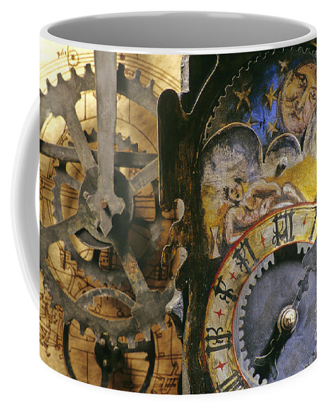 Time Coffee Mug featuring the photograph Time by Bernard Jaubert