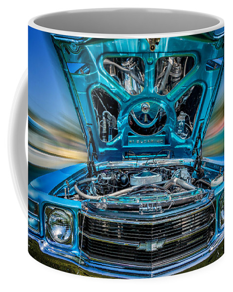 Car Coffee Mug featuring the photograph Time Warp by Bill Wakeley