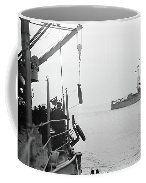 1913 Coffee Mug featuring the photograph Torpedo, 1913 by Granger