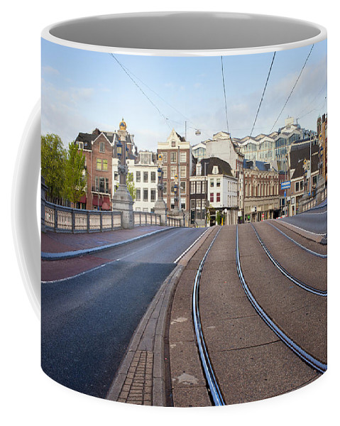 Amsterdam Coffee Mug featuring the photograph Transport Infrastructure In Amsterdam by Artur Bogacki