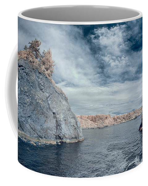 Infrared Coffee Mug featuring the photograph Trinidad Shoreline by Greg Nyquist
