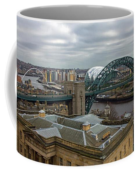 Tyne Bridge Coffee Mug featuring the photograph Tyne Bridge by David Pringle