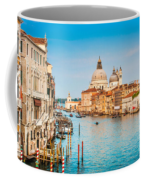 Adriatic Coffee Mug featuring the photograph Venice At Sunset by JR Photography