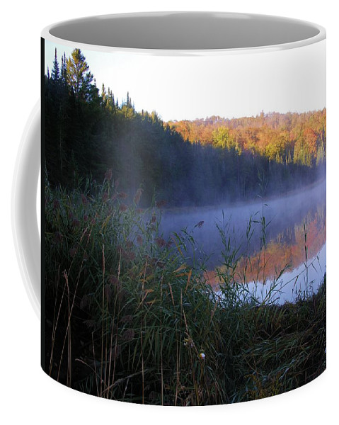 Pond Coffee Mug featuring the photograph Vermont Pond by Sherman Perry