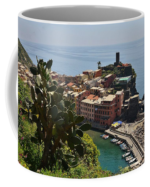 Vernazza Coffee Mug featuring the photograph Vernazza - Cinque Terre by Dany Lison