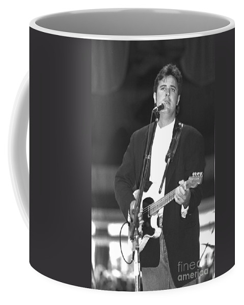 Country Coffee Mug featuring the photograph Vince Gill by Concert Photos