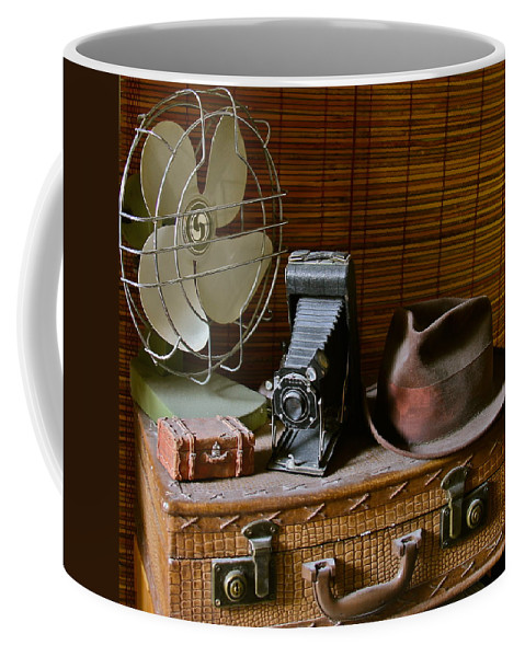 Vintage Coffee Mug featuring the photograph Vintage Vignette by Denise Mazzocco
