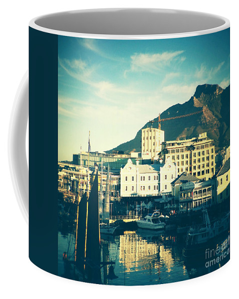 Waterfront Coffee Mug featuring the photograph Waterfront by Neil Overy