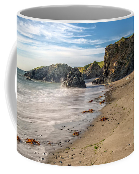 Llyn Peninsula Coffee Mug featuring the photograph Welsh Coast by Adrian Evans