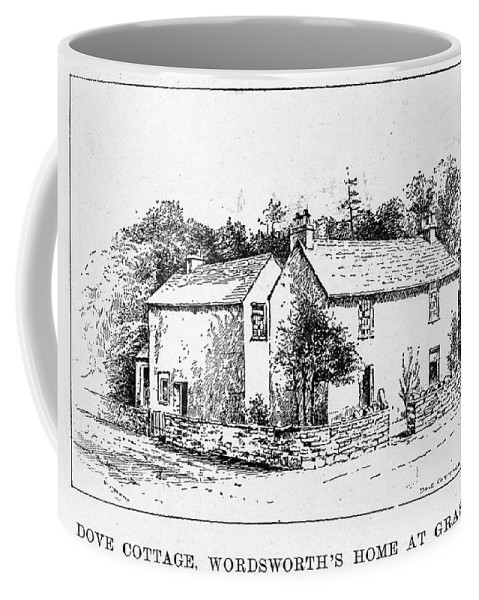 19th Century Coffee Mug featuring the drawing William Wordsworth (1770-1850) by Granger