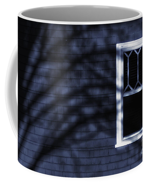 Window Coffee Mug featuring the photograph Window And Shadows by Mike Nellums