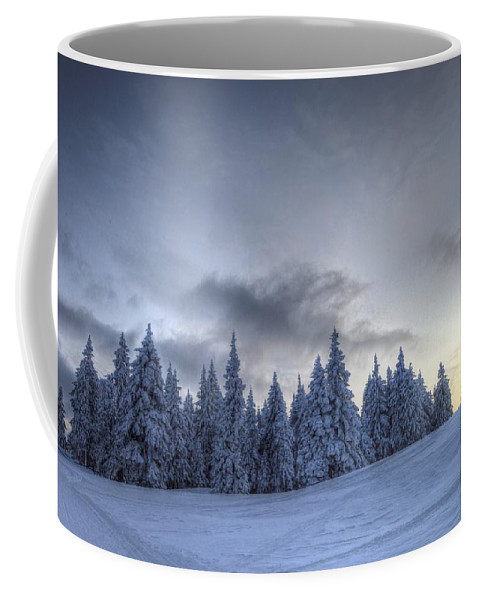 Adventure Coffee Mug featuring the photograph Winter by Ivan Slosar