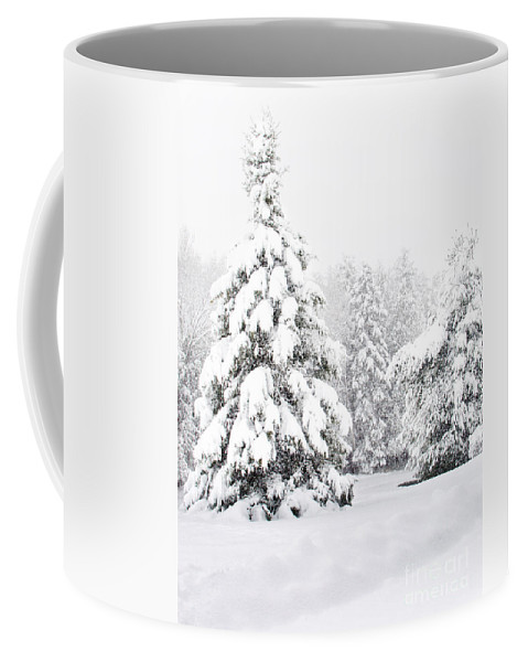 Winter Landscape Coffee Mug featuring the photograph Winter Landscape by Gwen Gibson