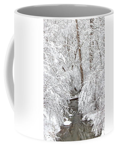 Winter Coffee Mug featuring the photograph Winter Wonderland by Benanne Stiens
