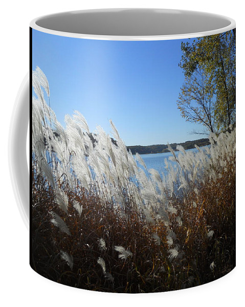Lakes Coffee Mug featuring the photograph Yellowstone Lake by Coleen Harty