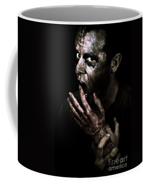 Apocalypse Coffee Mug featuring the photograph Zombie Apocalypse by Jorgo Photography - Wall Art Gallery