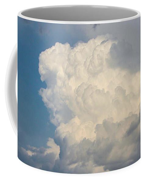Nebraskasc Coffee Mug featuring the photograph Nebraska Storm Cells A Brewin by NebraskaSC