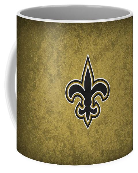 Saints Coffee Mug featuring the photograph New Orleans Saints by Joe Hamilton