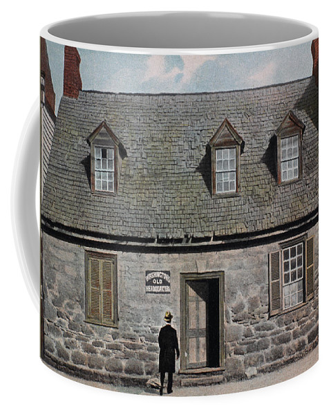 18th Century Coffee Mug featuring the photograph Washington: Headquarters by Granger